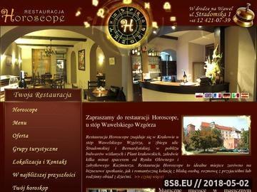 Zrzut strony Świetna restauracja w centrum Krakowa.