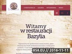 Miniaturka domeny restauracjabazylia.com