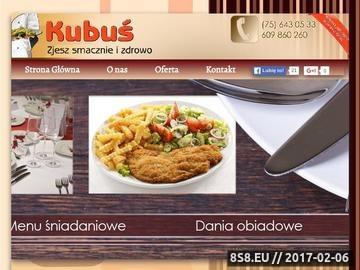 Zrzut strony Kuchnia polska - Jadłodajnia Kubuś
