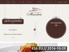 Miniaturka domeny restauracjamaestra.pl