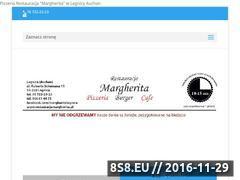 Miniaturka domeny restauracjamargherita.pl