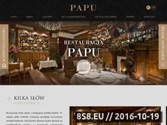 Miniaturka domeny restauracjapapu.pl