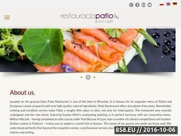 Zrzut strony Restauracja Wrocław