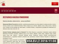 Miniaturka domeny www.restauracjapomodorino.pl