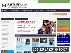 Miniaturka domeny www.retury.com