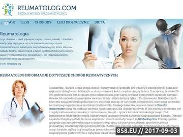 Zrzut strony Reumatoidalne zapalenie stawów