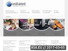 Miniaturka domeny revitamed.pl