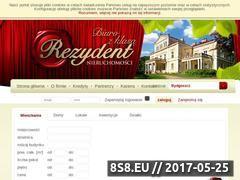 Miniaturka domeny www.rezydent.bydgoszcz.pl