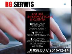 Miniaturka domeny www.rg-serwis.pl