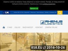 Miniaturka domeny www.rhenus-data.pl