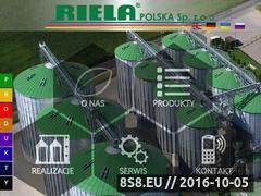 Miniaturka Urządzenia dla rolnictwa i hodowli, zboże i pasz (www.riela.pl)