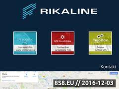 Miniaturka domeny www.rikaline-gps.pl