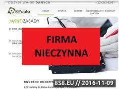 Miniaturka domeny www.ripdata.pl