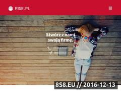 Miniaturka domeny www.rise.com.pl