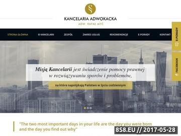 Zrzut strony Dobry prawnik z Lublina