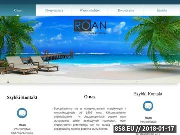 Zrzut strony Ubezpieczenia oc w Gdańsku - ROAN - Pośrednictwo Ubezpieczeniowe