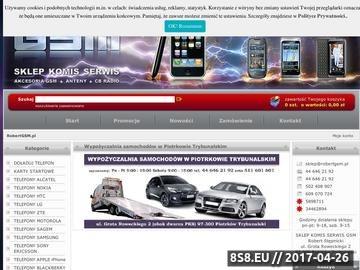 Zrzut strony Komis GSM