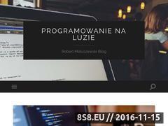 Miniaturka domeny www.robertmatuszewski.pl