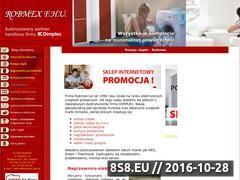 Miniaturka domeny www.robmex.com.pl