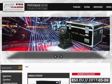 Zrzut strony Profesjonalne skrzynie transportowe - RockPro Cases