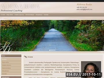 Zrzut strony Coaching Łódź