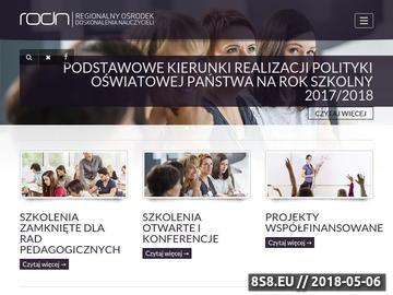Zrzut strony Nowa podstawa programowa