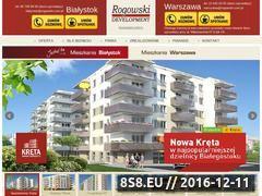 Miniaturka domeny www.rogowskidevelopment.pl