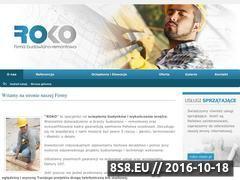 Miniaturka domeny www.roko-bud.pl