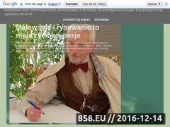 Thumbnail of Malowanie i rysowanie to moja życiowa pasja Website