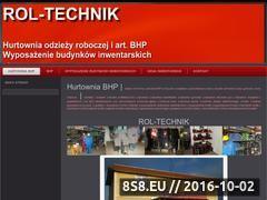 Miniaturka domeny www.rol-technik.pl