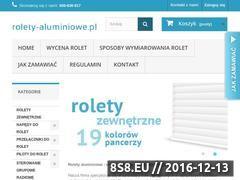Miniaturka domeny www.rolety-aluminiowe.pl