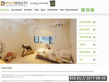 Zrzut strony Rolety rzymskie Warszawa