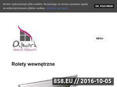 Miniaturka Rolety dzień i noc - Olmark (www.rolety.moolmark.pl)