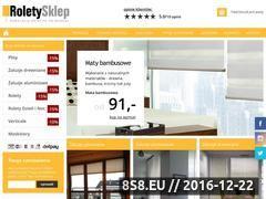 Miniaturka domeny roletysklep.com.pl