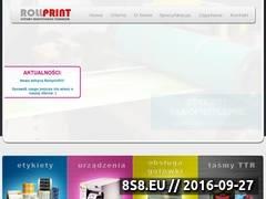 Miniaturka domeny rollprint.pl