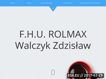 Zrzut strony Części Zamienne Do Ciągników, Kombajnów i Maszyn Rolniczych - ROLMAX