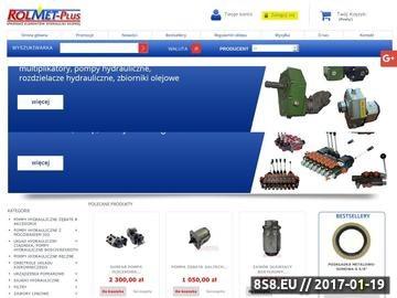Zrzut strony ROLMET PLUS hydraulika siłowa, pompaa, zawory, zodzielacze
