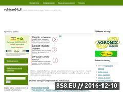 Miniaturka domeny www.rolnicze24.pl