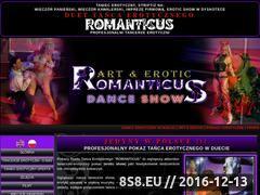 Miniaturka domeny www.romanticus.net1.pl