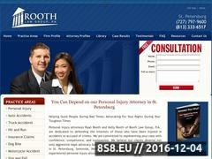 Thumbnail of Criminal Defense Attorney St. Petersburg Website