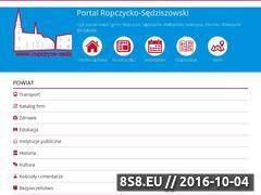 Miniaturka domeny www.ropczyce-sedziszow.pl