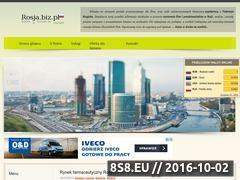 Miniaturka domeny rosja.biz.pl