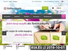 Miniaturka domeny rosliny-magda.pl