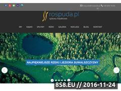 Miniaturka domeny www.rospuda.pl