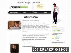 Miniaturka domeny www.rosyjski-ukrainski.com