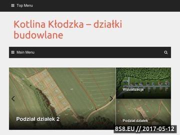 Zrzut strony Kotlina Kłodzka - działki budowlane