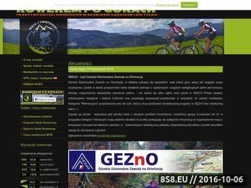 Zrzut strony Rowerem po górach - trasy i wycieczki rowerowe w Beskizie Sądeckim i nie tylko