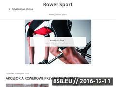 Miniaturka domeny www.rowersport.com.pl