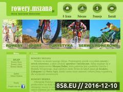 Miniaturka domeny www.rowery.mszana.pl