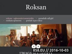 Miniaturka domeny www.roxan.pl